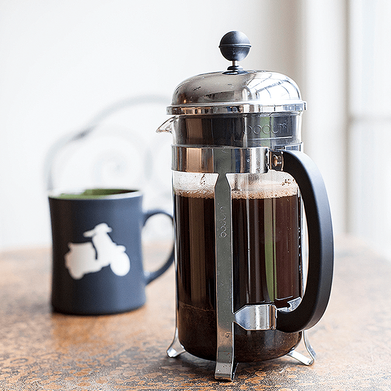french press min